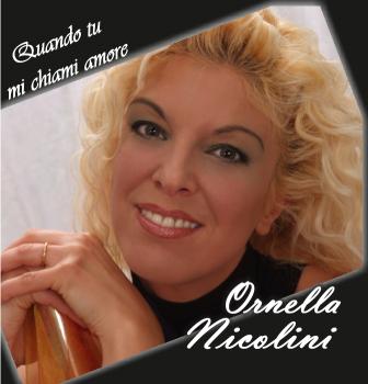 Ornella Nicolini - Quando tu mi chiami amore copertina